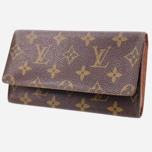 🌹LOUIS VUITTON Porte Yen Cartes Credit LongWallet